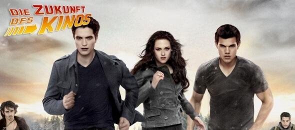 Zum Weglaufen? Die Twilight-Stars blicken ihrer Zukunft entgegen.