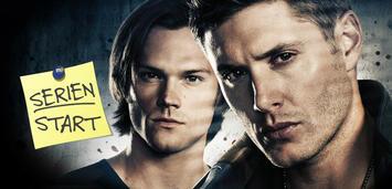 Bild zu:  Supernatural, Staffel 11: Jared Padalecki und Jensen Ackles