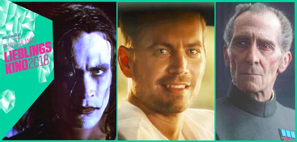 Drei digital wiederbelebte Schauspieler