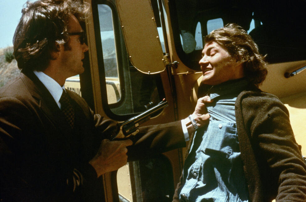 Dirty Harry mit Clint Eastwood und Andrew Robinson