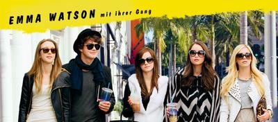 Emma Watson und ihre Gang auf Beutezug