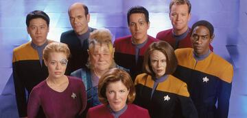 Die Crew der Voyager ab Staffel 4