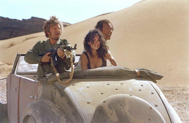 Sahara - Abenteuer in der Wüste mit Matthew McConaughey, Penélope Cruz und Steve Zahn