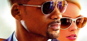 Will Smith und Margot Robbie in Focus