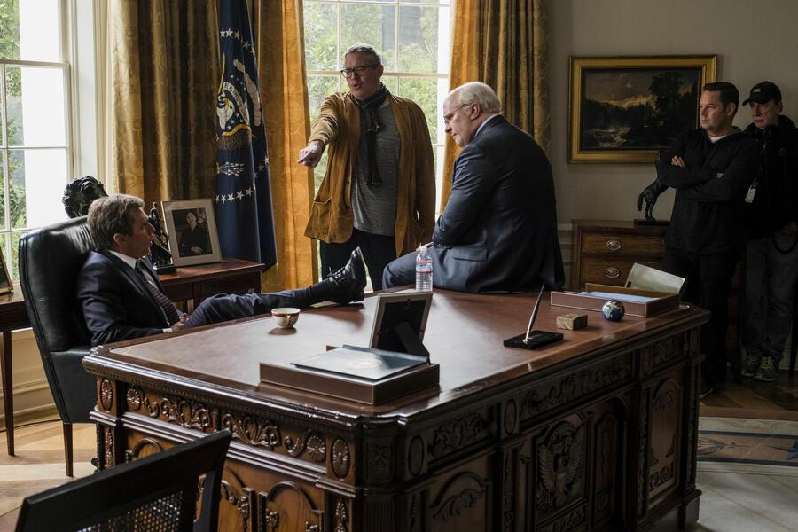 Vice - Der zweite Mann mit Christian Bale, Sam Rockwell und Adam McKay