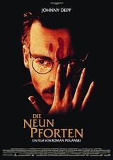 Die neun Pforten - Poster