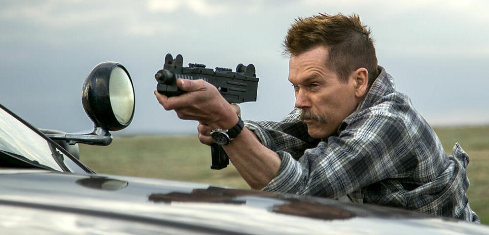 Leider nicht im Kino, aber dafür jetzt bei den DVD-Neuheiten: Cop Car mit Kevin Bacon.