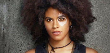 Bild zu:  Zazie Beetz als Domino in Deadpool 2