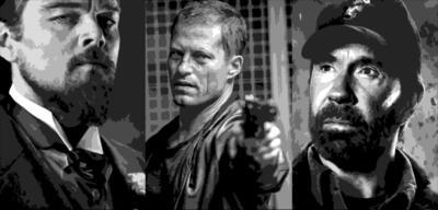 Leonardo DiCaprio / Til Schweiger / Chuck Norris
