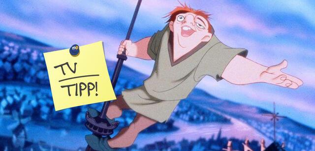 Quasimodo heißt der Glöckner von Notre Dame