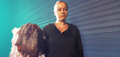 Samantha Morton als Alpha in The Walking Dead