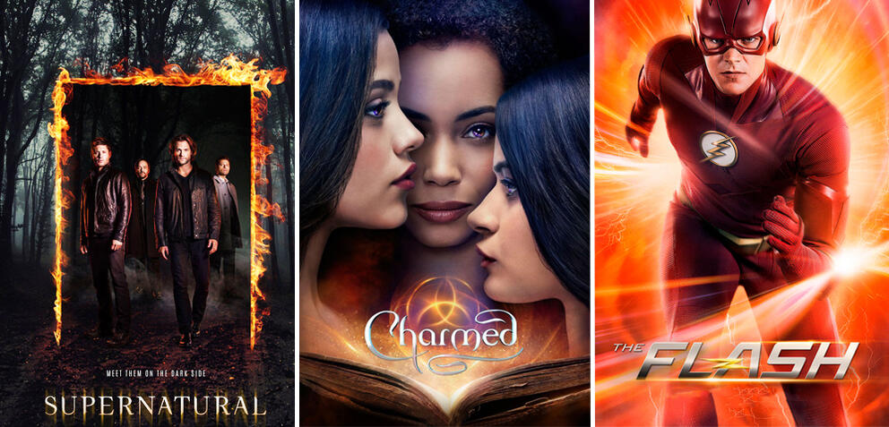 Supernatural/Charmed/The Flash