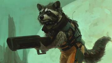 Der Rocket Raccoon soll das Herz des Films werden