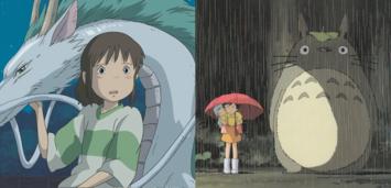 Bild zu:  Chihiro,Satsuki, Mei und Totoro