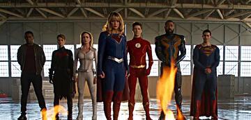 Die Arrowverse-Justice League