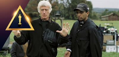 Roger Deakins am Set von The Village