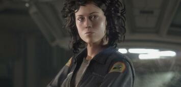 Bild zu:  Sigourney Weaver als digitale Ellen Ripley in Alien: Isolation