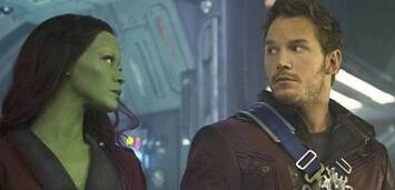 Bild zu:  Zoe Saldana & Chris Pratt in Guardians of the Galaxy